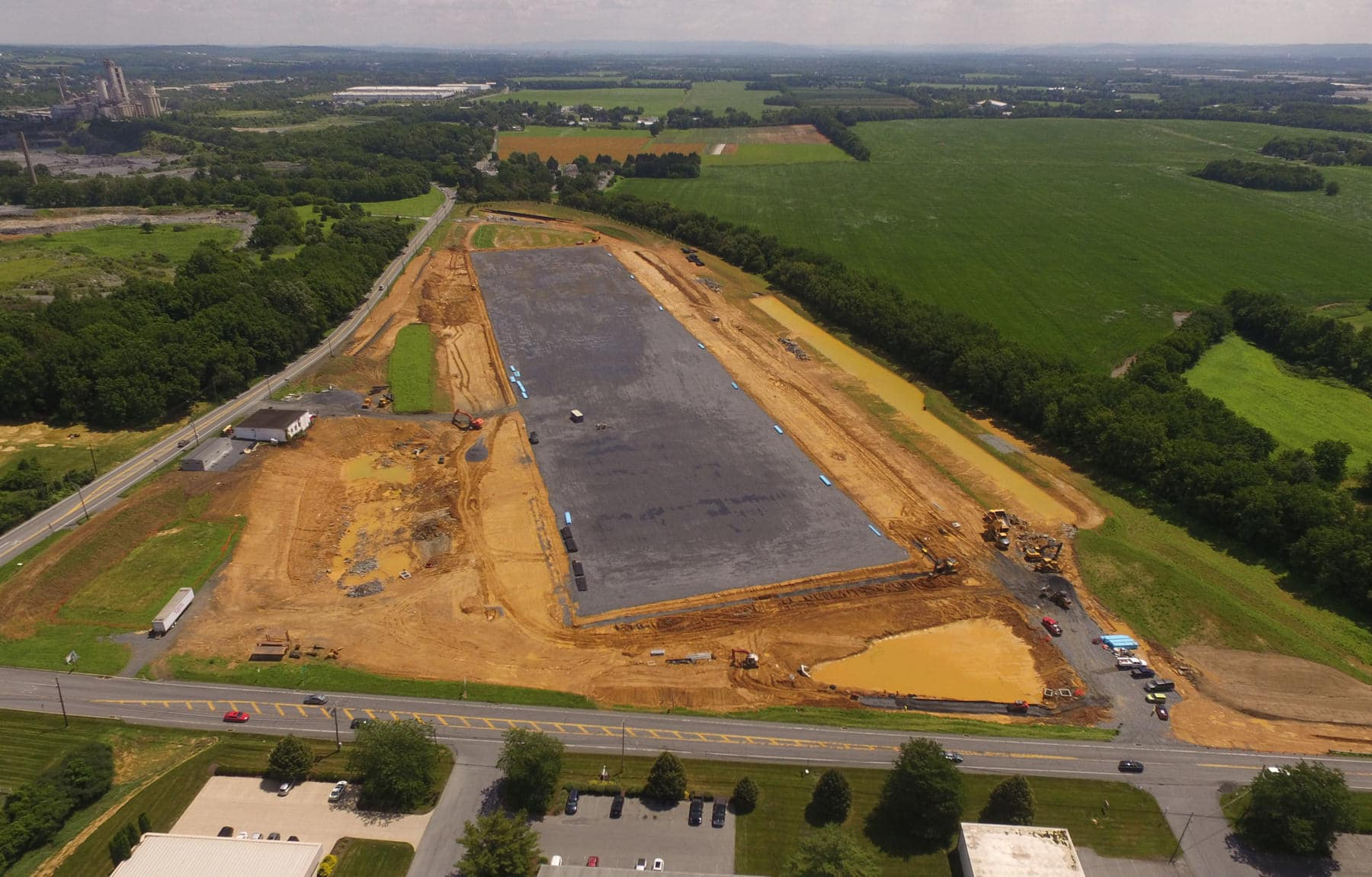 Lot 1 Airport Road Site Progression