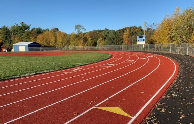Minersville High School Running Track