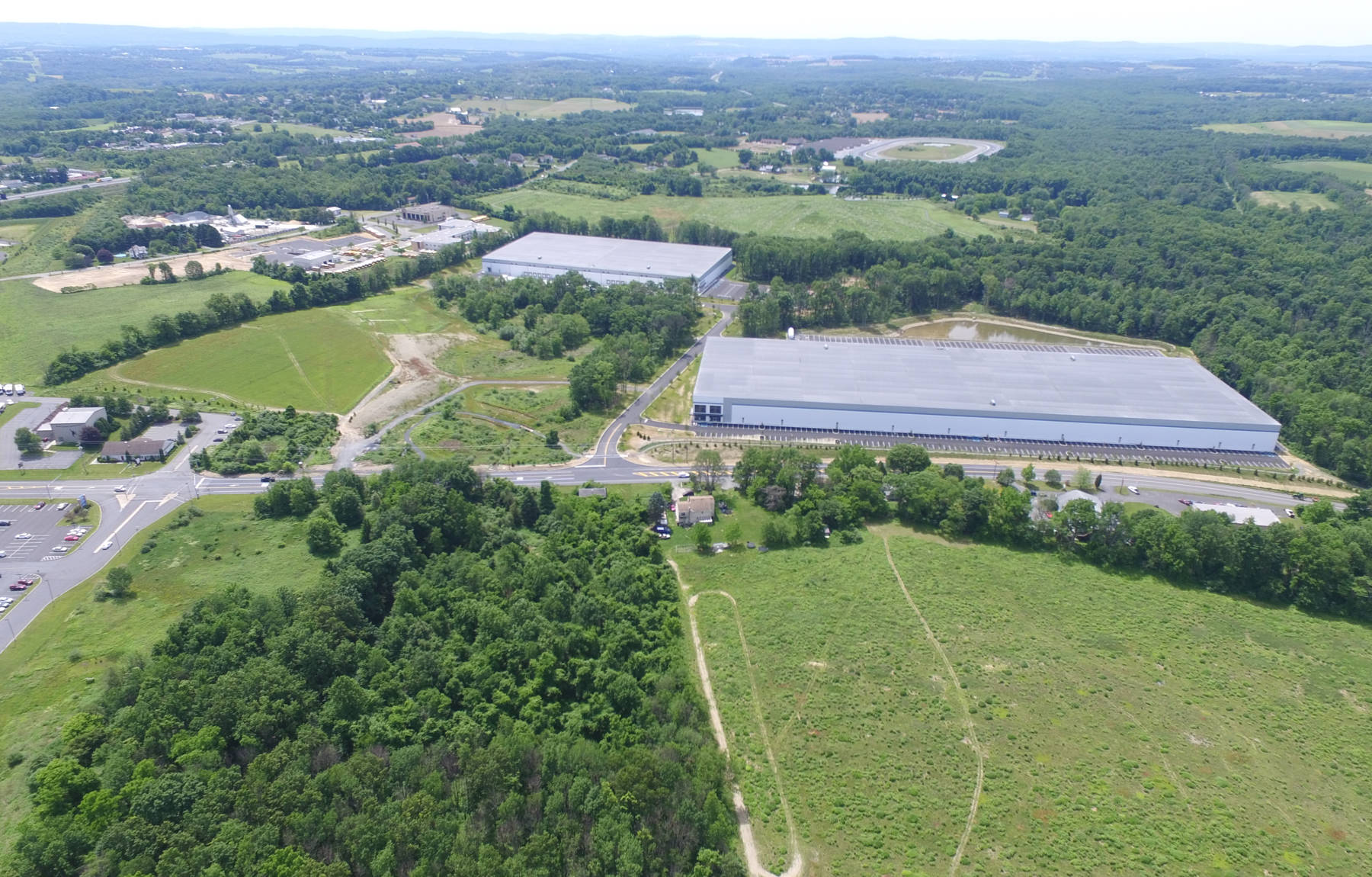 Overall project both buildings – Wind Gap Business Center/ LV East – 450 & 460 E. Moorestown Road Wind Gap.